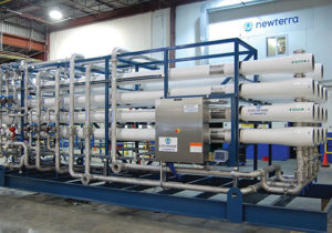 Boiler Feed and Ultraclean water with Reverse Osmosis, Multi-Media Filtration, Ion Exchange and Deaerators
