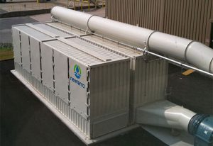 Air Treatment System Industrial Odor Control P&G Site