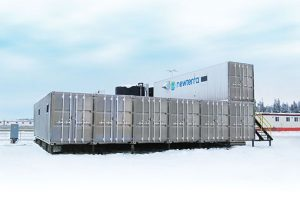 Camp Permanent System N-MBR 1,000 people Refinery Alberta Reuse