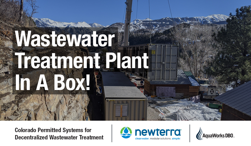 Partnership AquaWorks DBO and Newterra in Colorado