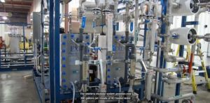 Ultra Pure Water System RO and EDI 300 gpm