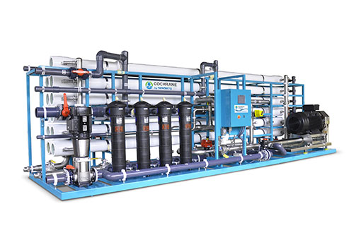 Seawater Reverse Osmosis with Energy Recovery