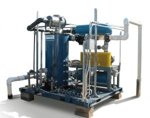 Vacuum Extraction System skid mounted