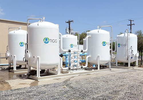 Municipal Drinking Water Treatment for Contaminanted Groundwater
